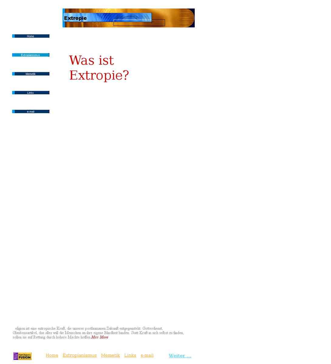 Extropie