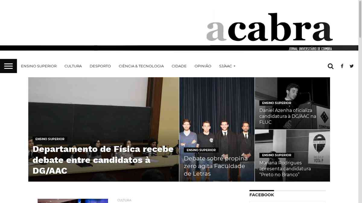 "Vítor Ferreira: ""Coimbra jaz culturalmente adormecida"" | A Cabra"