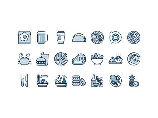 Food Icons by Scott Tusk - Dribbble