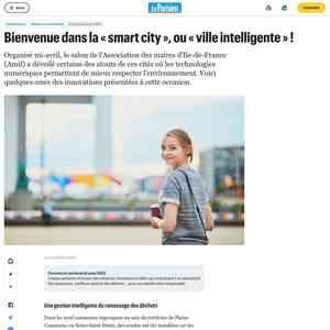 Bienvenue dans la « smart city », ou « ville intelligente » ! - Le Parisien