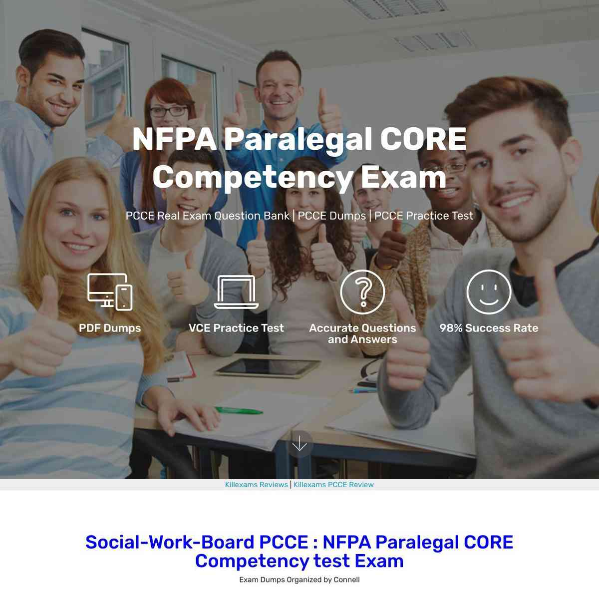 Free Free Exam PDF of PCCE exam direct download link