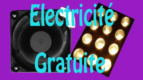 Electricité gratuite, montage très simple - YouTube