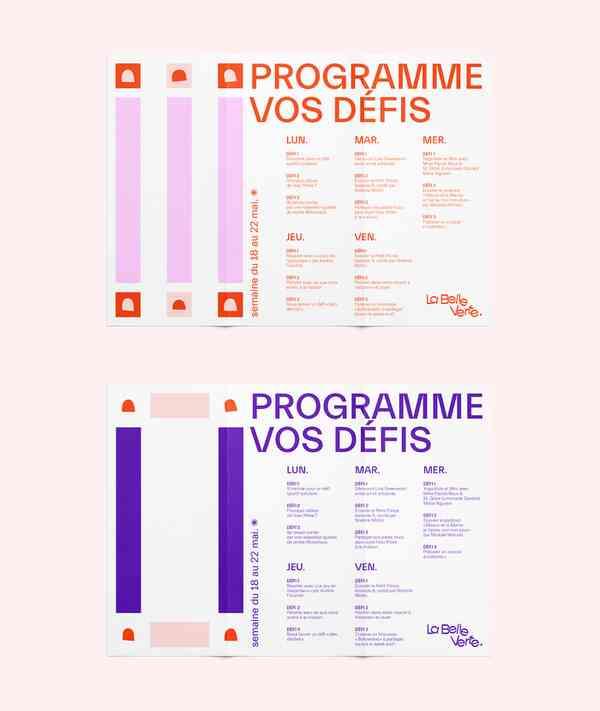 La Belle Verte | Programs