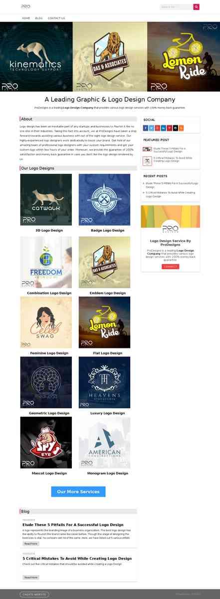 A Leading Graphic & Logo Design Company