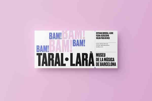 Taral·larà: Museu de la Música de Barcelona   Ticket