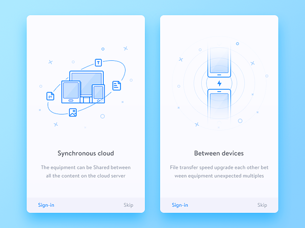 Guide Page by Dea_n - Dribbble