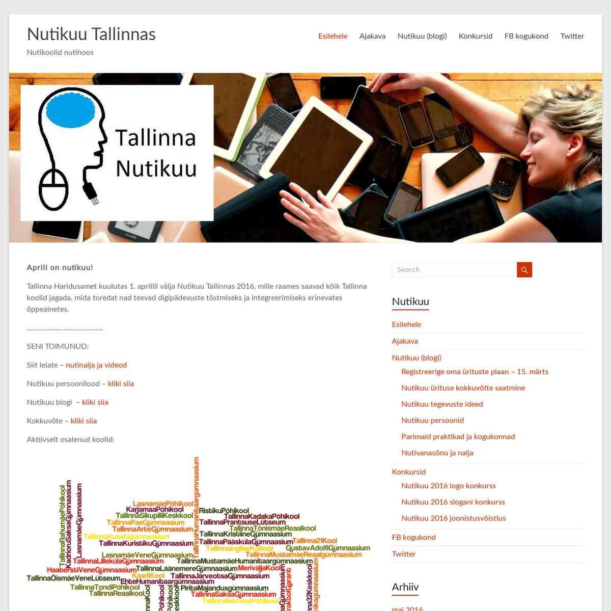 Nutikuu Tallinnas – Nutikoolid nutihoos