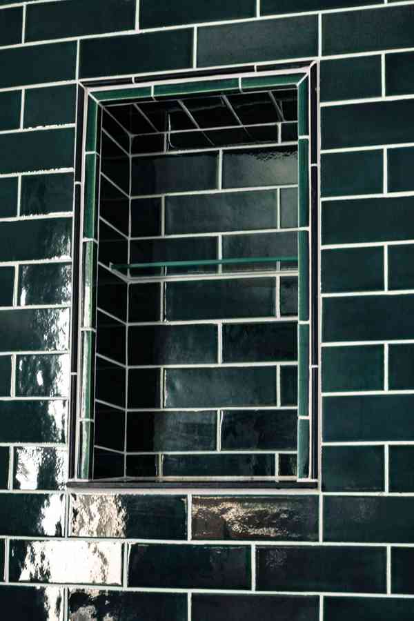 Scandinavian Subway Bathroom - Scandinavian - Bathroom - Minneapolis - by Mercury Mosaics and Tile
