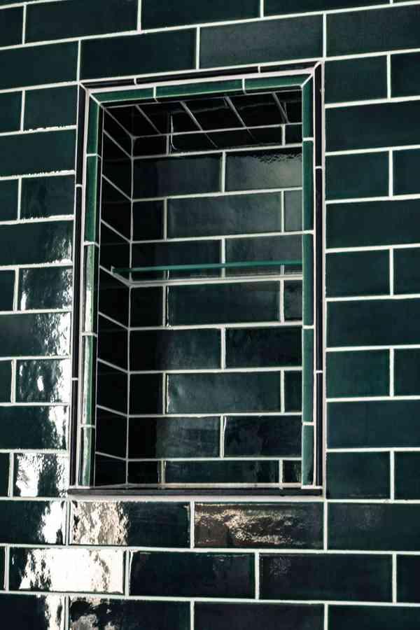 Scandinavian Subway Bathroom - Scandinavian - Bathroom - Minneapolis - by Mercury Mosaics and Tile