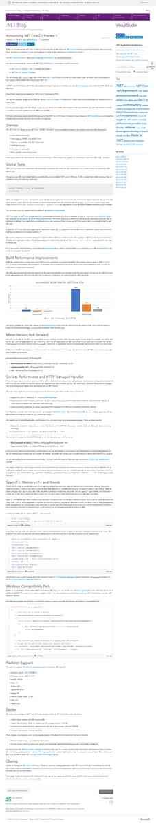Announcing .NET Core 2.1 Preview 1 | .NET Blog