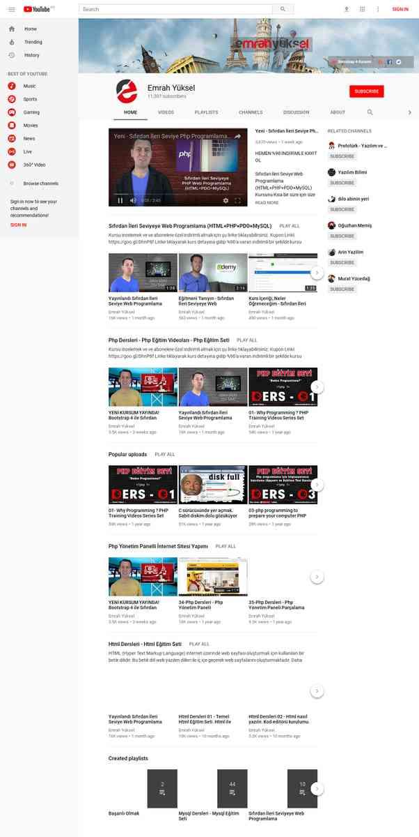 Emrah Yüksel - YouTube