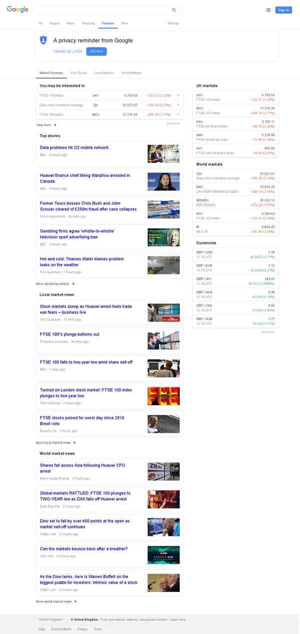 finance - Recherche Google