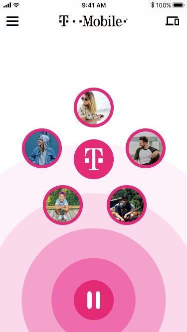 Family Mode Pause UI