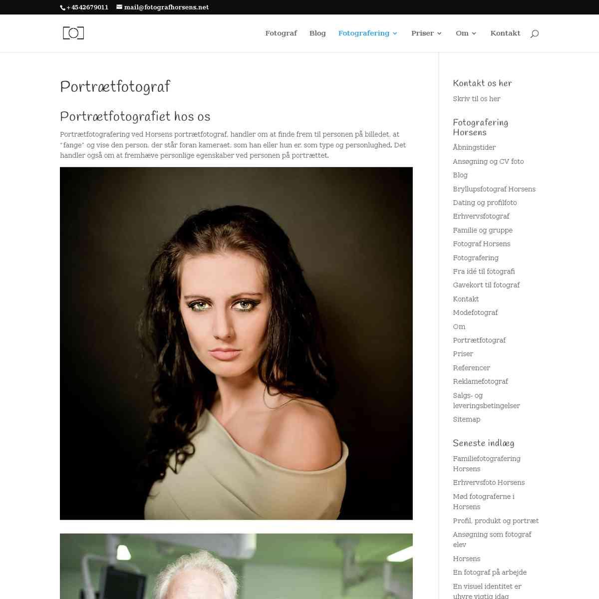 Portrætfotograf