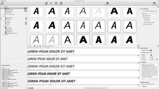 FontExplorer® X Pro - Font Management Software & Free Trial