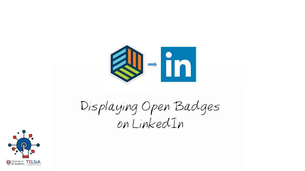 Displaying Open Badges in LinkedIn