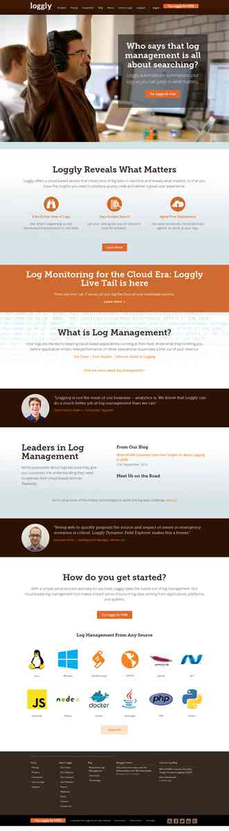 Log Management | Cloud Log Management Service | Loggly