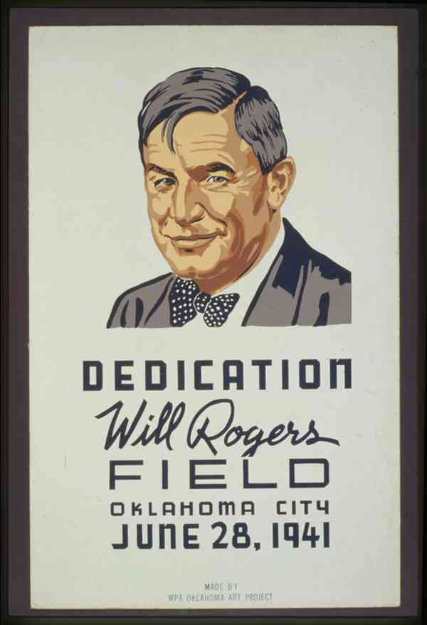 Dedication: Will Rogers Field, Oklahoma City, June 28, 1941