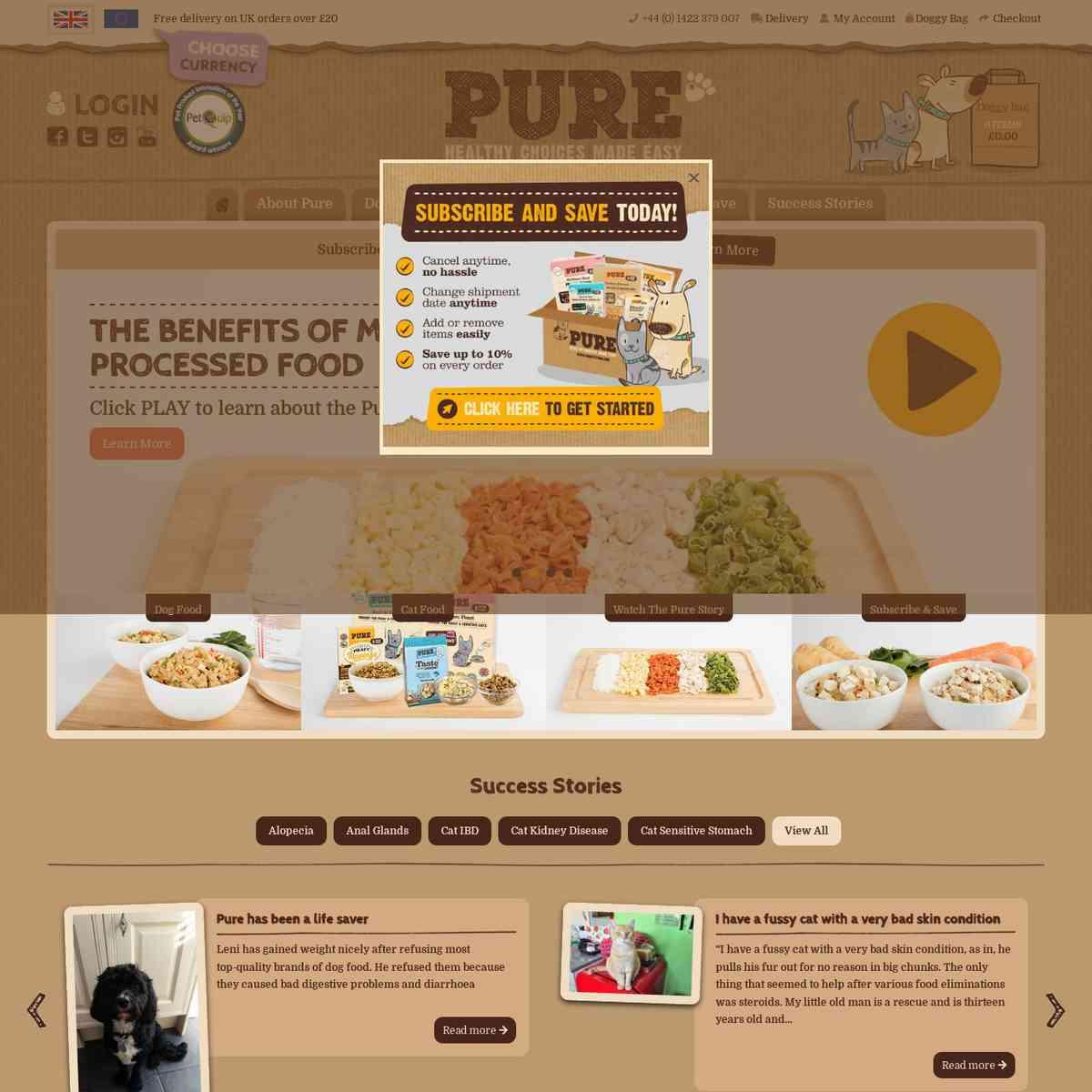 purepetfood.co.uk