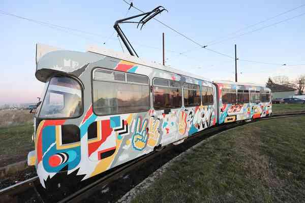 Revolution x Tram Painting x Memoriile Cetatii 2019