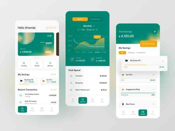 Simple Banking iOs App