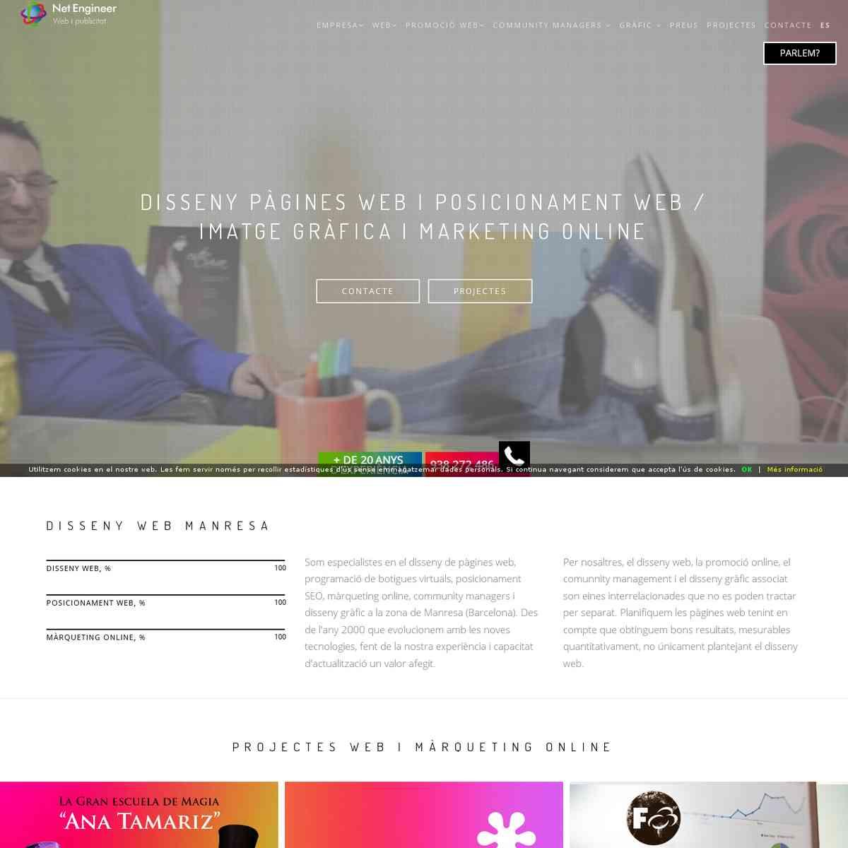 páginas web en Manresa