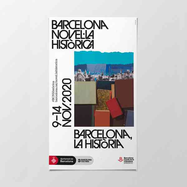 Barcelona Novel·la Històrica 2020 | Poster