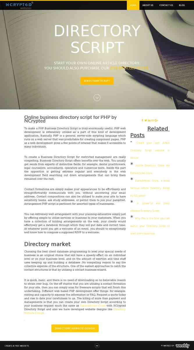 directoryscript.weebly.com