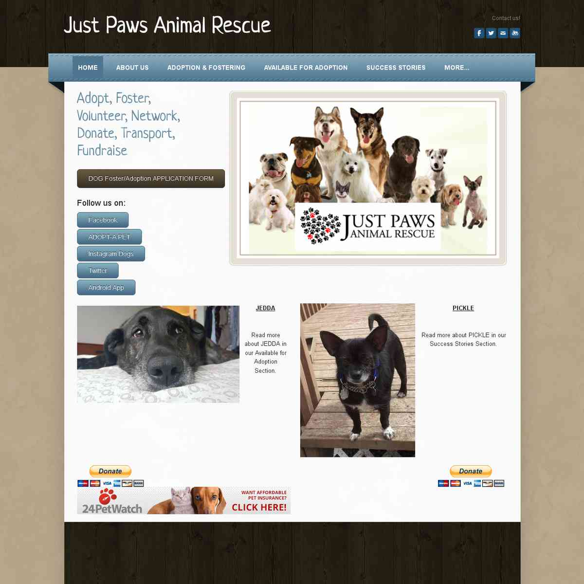 Just Paws Rescue (Canada)