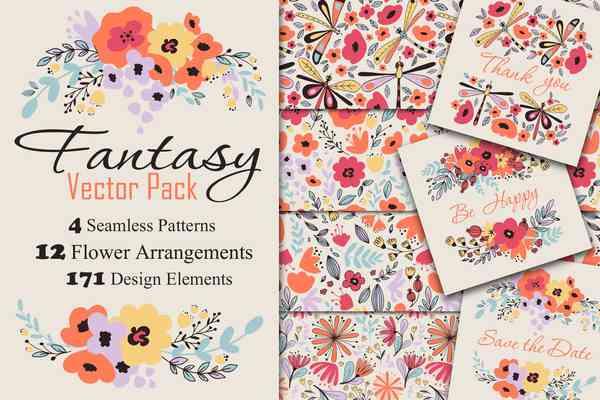 $ Fantasy Flowers
