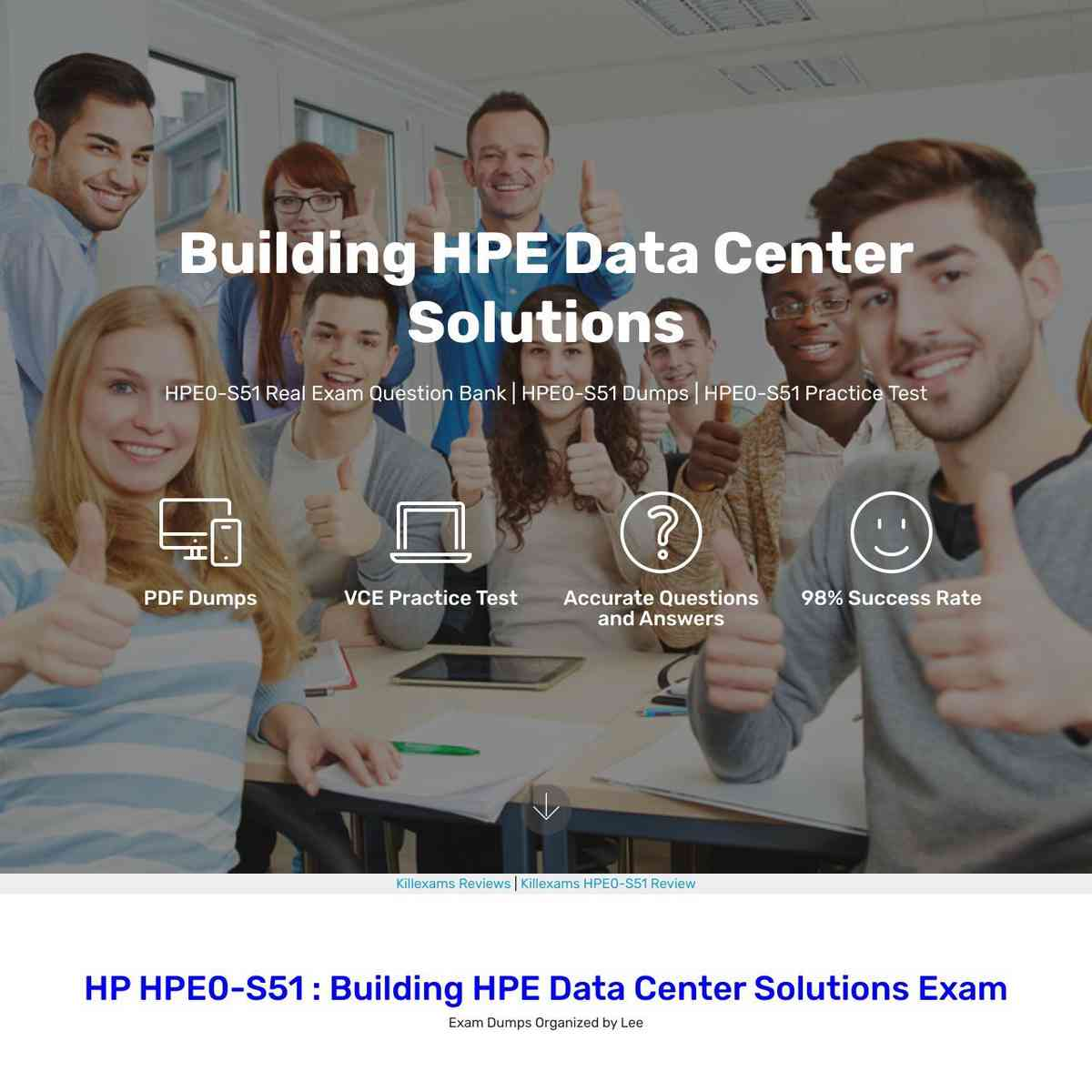 HPE0-S51 Exam Questions with Real Questions that works in actual test