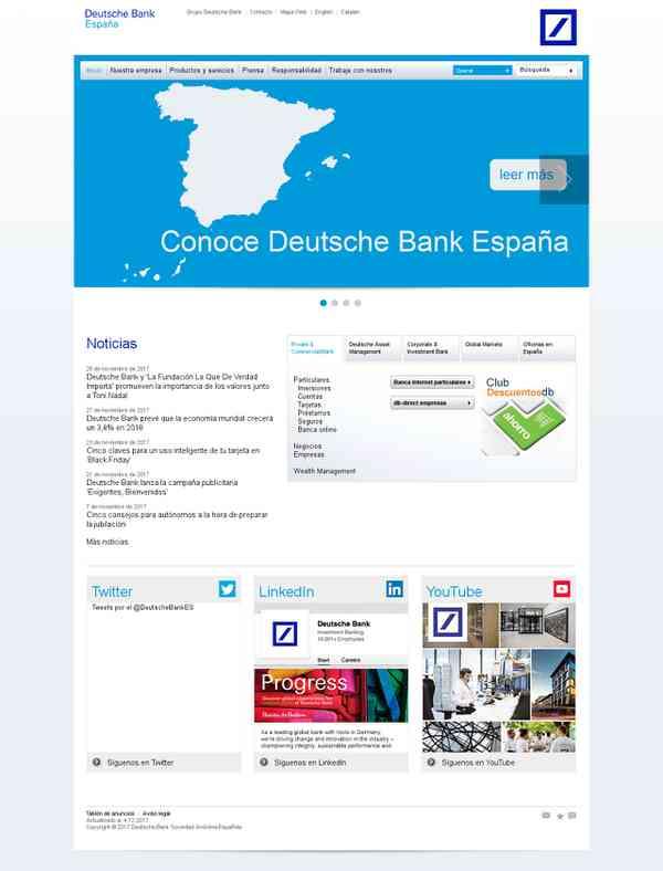 Deutsche Bank – Inicio