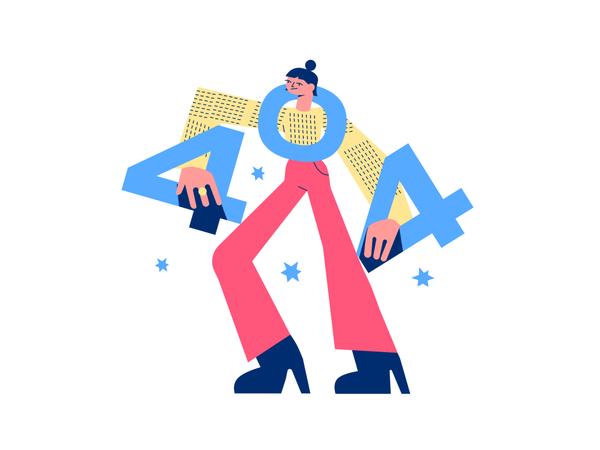 Error 404 Illustrations