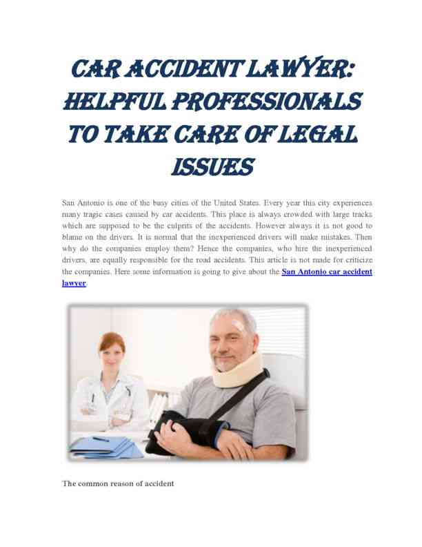 Helpful Professionals to Take Care of Legal Issues