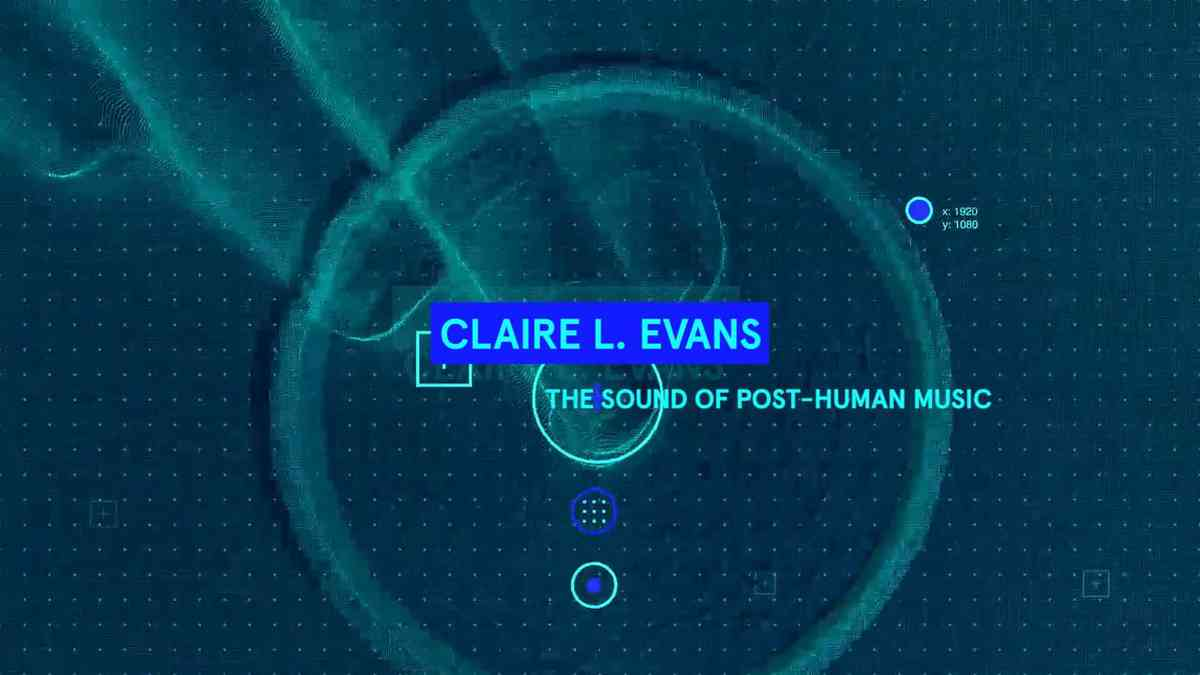 Claire Evans at STRP