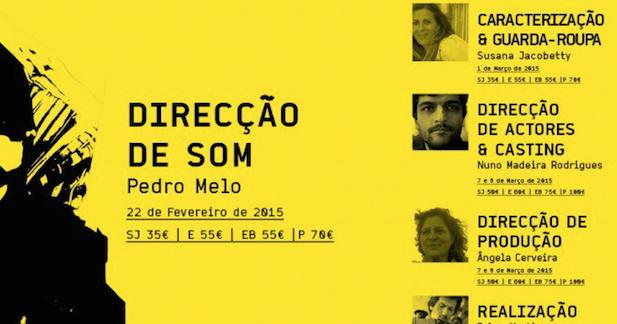 Formação / Caracterização & Guarda-Roupa / Caminhos do Cinema Português | Susana Jacobetty