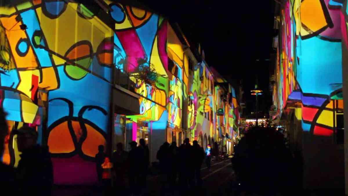 Schabbach beleuchtet Kurort mit Kunstwerken