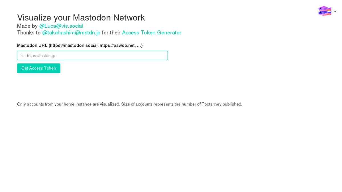 Mastoviz | Mastodon Network Visualization