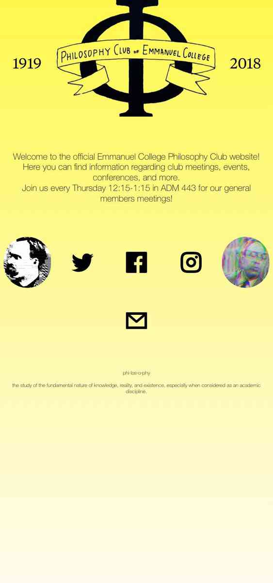 Emmanuel College Philosophy Club