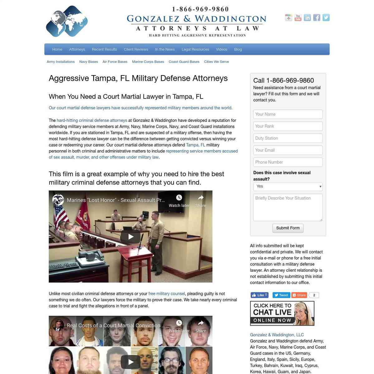 Military Attorney