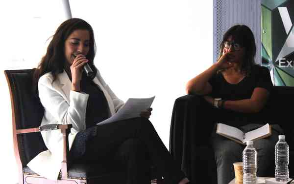 La garganta, el grito y la voz. Cinthya García Leyva y María Antonia González Valerio