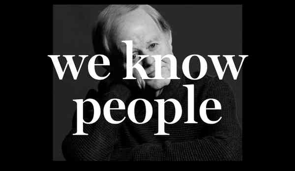 We Know People | TRA