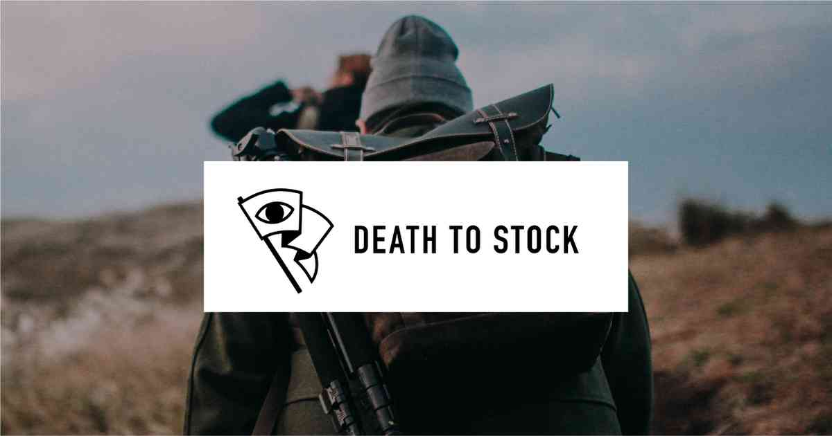 Death to Stock — When stock dies art thrives.