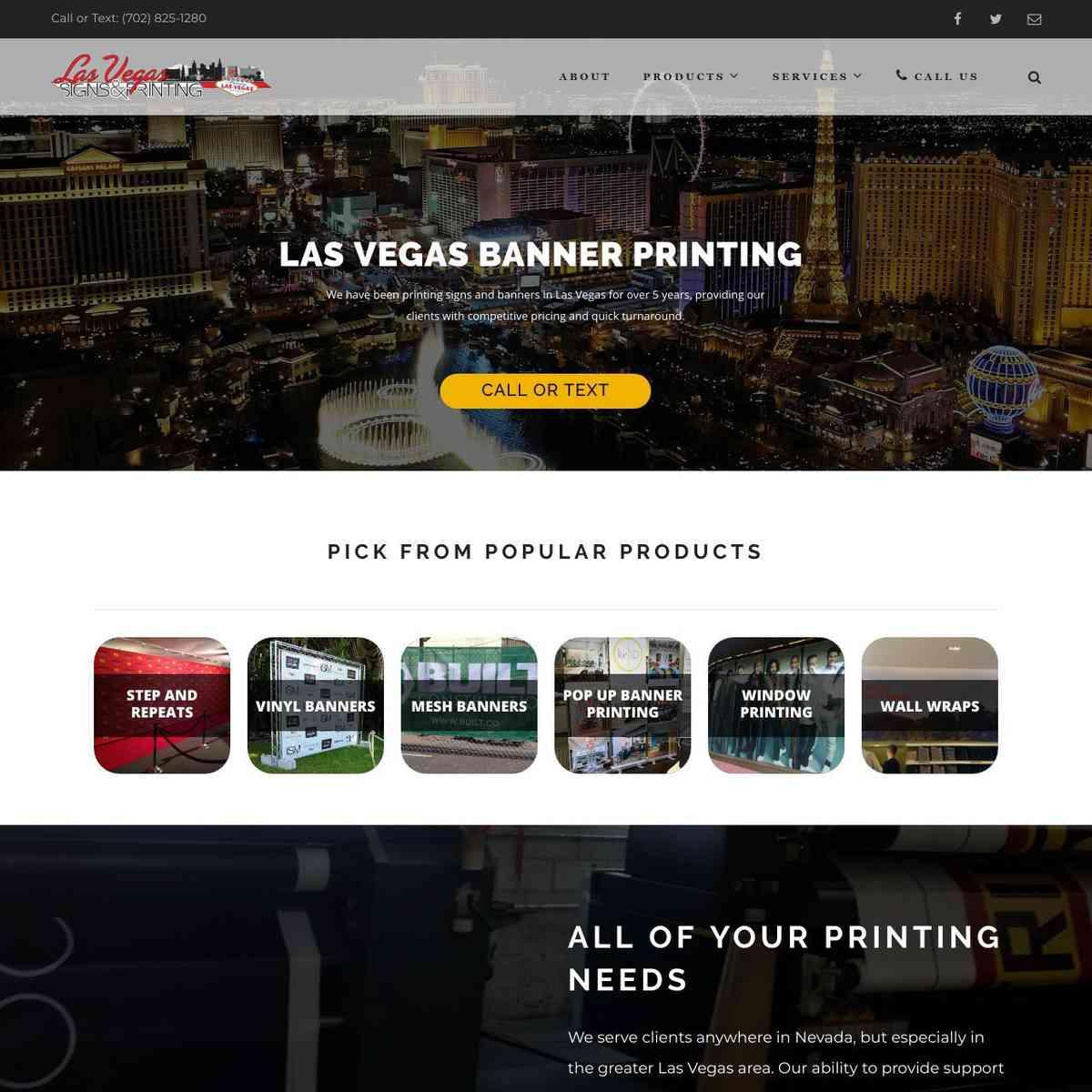 Las Vegas Banner Printing