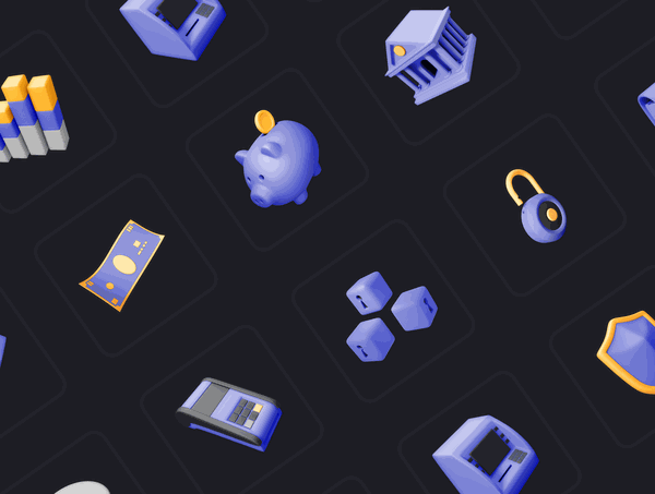 3D Icon Pack: Finance