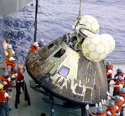 Recovery of the Apollo 13 Command Module
