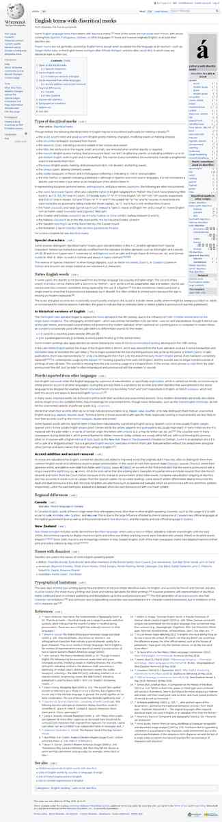 English terms with diacritical marks - Wikipedia