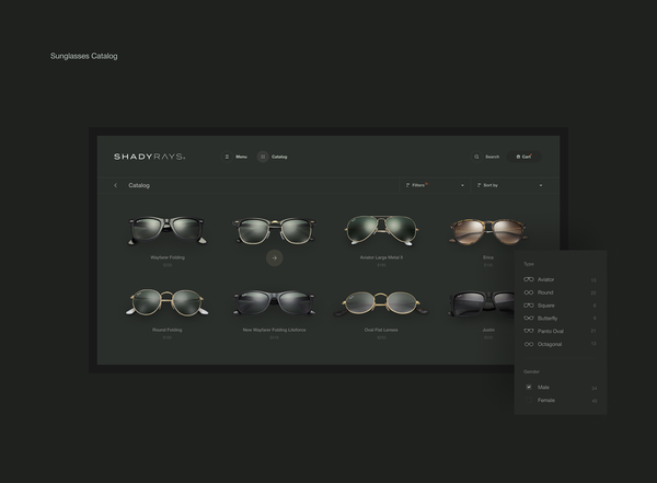 ShadyRays Sunglasses   Catalog