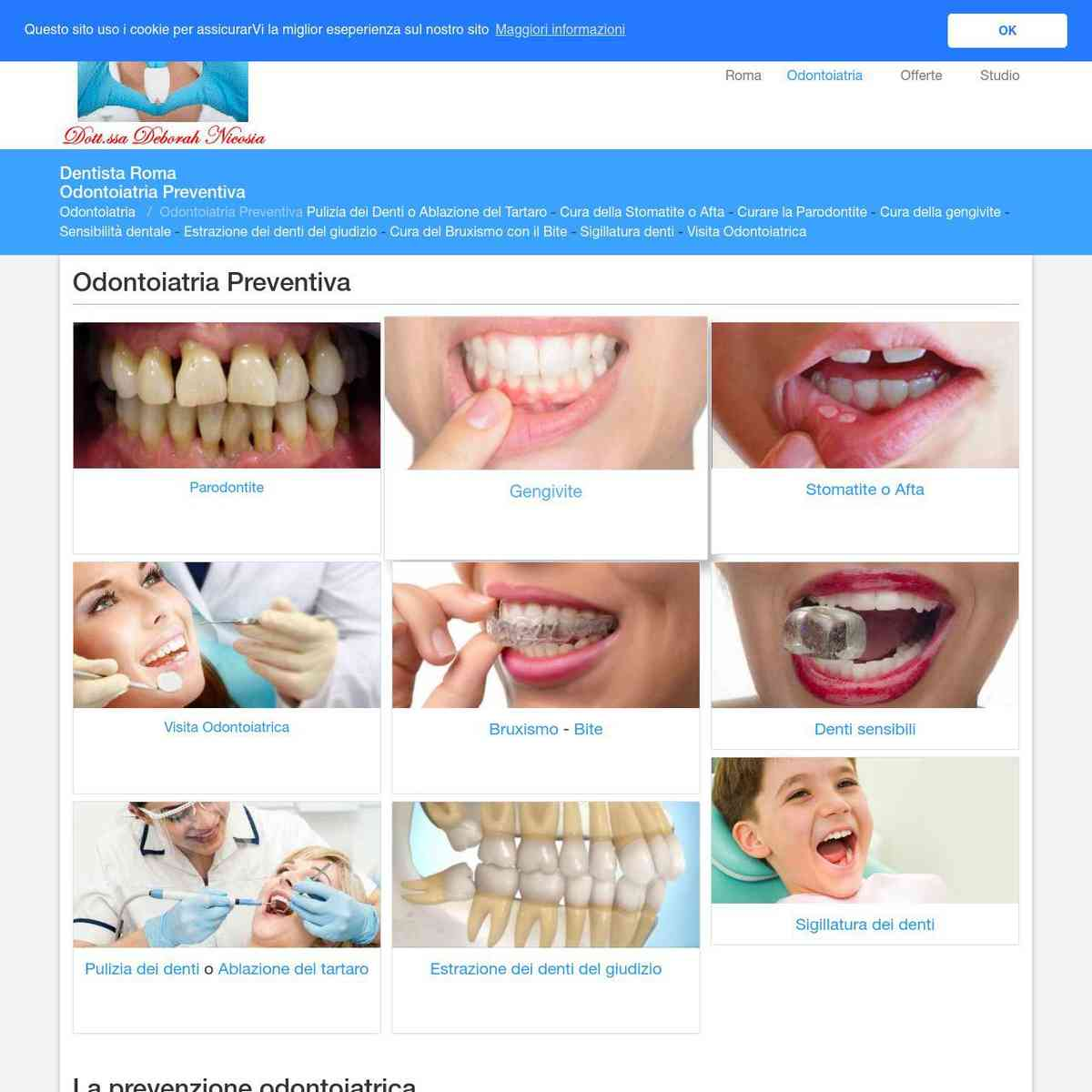 Odontoiatria Preventiva - Dentista Roma