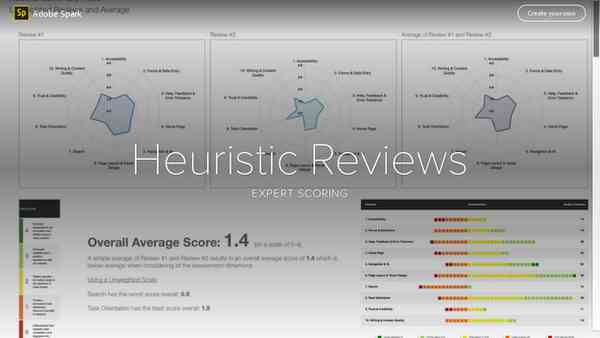 Heuristic Reviews
